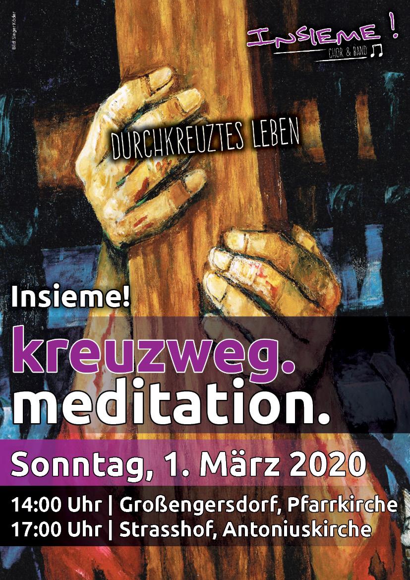 """""""Durchkreuztes Leben"""" Kreuzweg.meditation."""